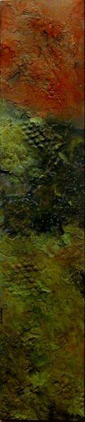 'Alien Landscape-Noofox'  mixed media  Steve Zihlavsky