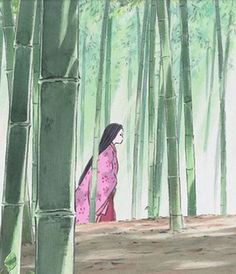 the tale of princess kaguya, moon princess, bamboo cutter
