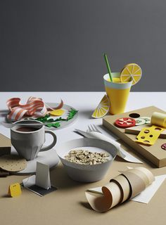 Breakfast by Fideli Sundqvist and Olivia Jeczmyk, 2014, Sweden