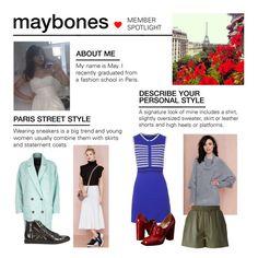 """Member Spotlight: Maybones"" by polyvore ❤ liked on Polyvore featuring REHAB, River Island, Richmond, Topshop, M Missoni, Viktor & Rolf and MemberSpotlight"