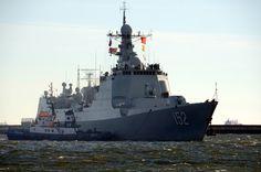 Chińskie okręty już w Gdyni