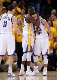 1a70e7549 Golden State Warriors  Stephen Curry (30) gets a hug from Golden State  Warriors