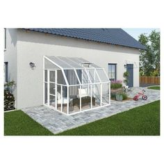 The pergola kits are the easiest and quickest way to build a garden pergola. There are lots of do it yourself pergola kits available to you so that anyone could easily put them together to construct a new structure at their backyard. Patio Pergola, Curved Pergola, Metal Pergola, Pergola With Roof, Covered Pergola, Pergola Shade, Patio Roof, Pergola Plans, Pergola Ideas