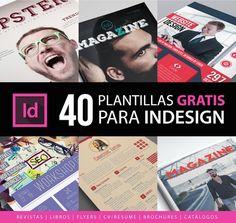 40 Templates InDesign gratis para descargar