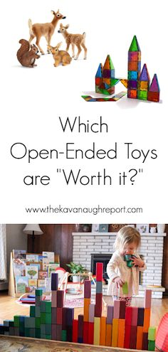 6 Montessori friendly open-ended toys that we love