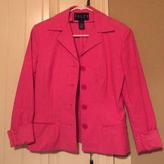 Ralph Lauren blazer Very cute! I just never wear it. Size 4 Ralph Lauren Jackets & Coats Blazers