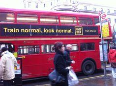 Le célèbre bus rouge !
