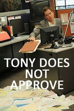 Tony does not approve by @genevieve