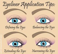 How To Apply Eyeliner Perfectly – With Detailed Steps And Pictures #makeup #eyemakeup #eyeliner