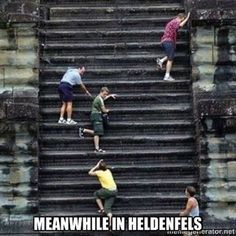Hilarious!! Those stairs were killer..