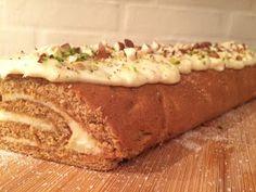 Cake speaks louder than words: Gulerodskage-roulade