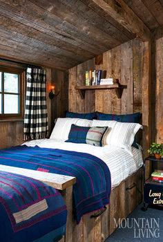 Gorgeous Rustic Cabin Interior Idea (2)