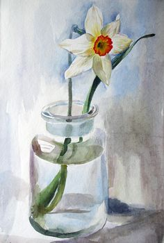 Hottest Pictures Narcissus vs daffodil Popular Long-lived daffodils are one of the simplest to nurture in addition to most popular early spring blo Daffodil Bulbs, Daffodil Flower, Daffodils, Flower Art, Watercolor Flowers, Watercolor Paintings, Yellow Plants, Spring Landscape, Floral Artwork