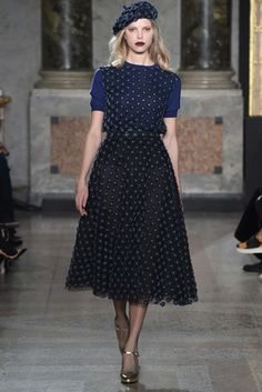 Luisa Beccaria ~ Fall 2015 Ready-to-Wear - Milan
