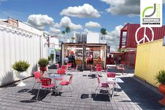 SHIPPING CONTAINERS! Container City, Cholula   Mexico store design