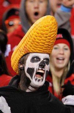 University of Nebraska – Lincoln Cornhuskers - black shirt defense fan