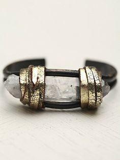 now THAT is a rad rough around the edges bracelet.