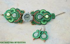 'Celtic' soutache watch by MagiaSoutache.deviantart.com on @DeviantArt