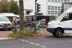 Tatort des Attentat auf Henriette Reker