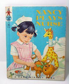 Children's Book, Nancy Plays Nurse