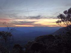 There's no place like home,( Blue Mountains, Katoomba) I Smile, Make Me Smile, Blue Mountain, Creativity, Celestial, Mountains, Sunset, Places, How To Make