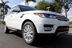 Shopping for a new luxury SUV? Browse our inventory of Land Rover models for sale near Delray Beach, complete with pictures and detailed information. Palm Beach Fl, Delray Beach, Land Rover Models, Models For Sale, Range Rover Sport, Luxury Suv, Landing, Vehicles, Sports