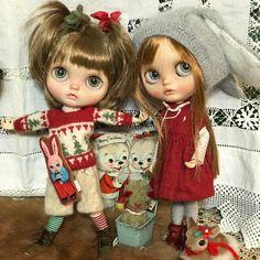 Welcome Santa Claus  .    #blythe#customblythe#blythedoll#vainilladolly#guu3kumanami#harusya