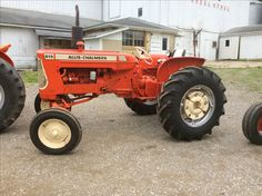 rare in this series.jim certainly knows this. Allis Chalmers Tractors, Antique Tractors, Farming, Diesel, National Treasure, Daddy, Fun, Trucks, Orange