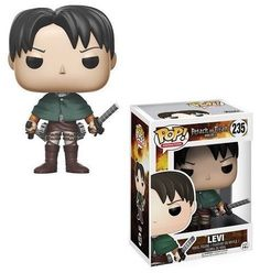 Funko Pop Attack On Titan Levi Inch Vinyl Figure Collectible Toy Gift New Anime Pop Figures, Pop Vinyl Figures, Funko Pop Figures, Attack On Titan Levi, Ghibli, Funko Pop Anime, Funko Pop Dolls, Before I Forget, Funk Pop