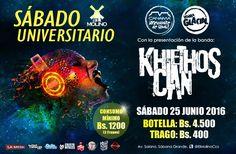 """El Molino presenta: """"Sábado Universitario con Khlethos Clan"""" http://crestametalica.com/events/el-molino-presenta-sabado-universitario-con-khlethos-clan/ vía @crestametalica"""