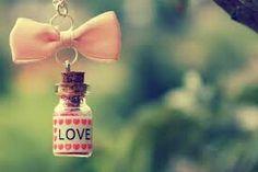 Love message in a botttle