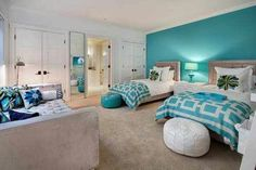 Great room for teen girls