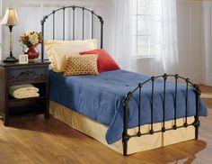 Hillsdale 346BTWR Bonita Bed Set - Twin - w/Rails