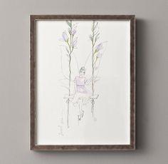 Flower Fairy Illustration - Sweet Pea