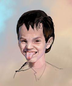 my son (karikature)