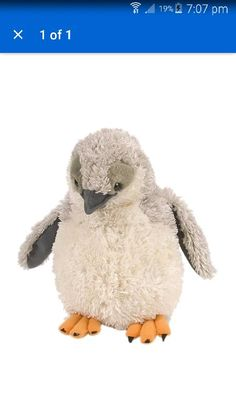 Wild Republic Cuddlekins Chinstrap Penguin Plush Puppets for sale online Realistic Stuffed Animals, Diy Stuffed Animals, Puppets For Sale, Flightless Bird, Cute Penguins, Snuggles, Cuddling, Baby Animals, Plush