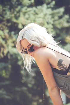 I lick the gun when I'm done 'cause I know that revenge is sweet. #tattoo #gun #girl