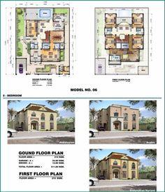 saudi aramco villa plans 6 - architecture