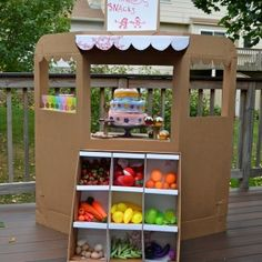 """Great """"playtime"""" idea, but could also tweek this to be a really cute window display for the store."""