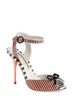 Coral striped sandal @Nordstrom http://rstyle.me/n/fj5gxnyg6