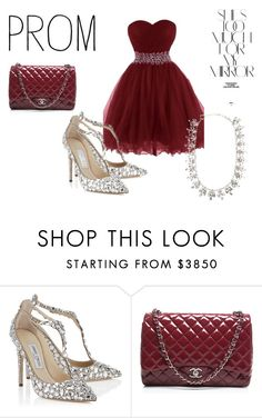 """""""Untitled #7"""" by vaiva5789 on Polyvore featuring Jimmy Choo, Chanel, Sterling Forever and Rika"""