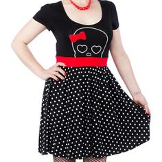 Hunny Lulu Dress by Sourpuss Clothing