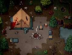 Click this image to show the full-size version. Pixel Art Gif, How To Pixel Art, Cool Pixel Art, Piskel Art, Pix Art, Pixel Rpg Games, Pixel Art Background, Casual Art, Pixel Animation