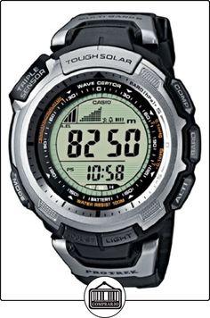Casio PRO TREK - Reloj digital unisex de cuarzo con correa de resina negra (altímetro, alarma, brújula) - sumergible a 100 metros de  ✿ Relojes para hombre - (Gama media/alta) ✿