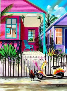 KEY WEST COLORS by Ray Rolston