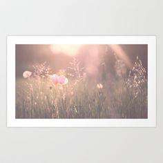 June Evening Art Print by SUNLIGHT STUDIOS  Monika Strigel - $19.00