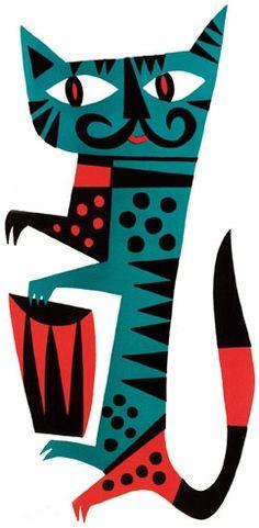 Resultados de la Búsqueda de imágenes de Google de http://www.jimfloraart.com/images/various/mambo-cat.jpg