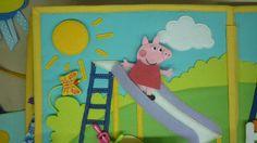 Развивающая книжка - Amazing ideas for a Peppa Pig Quiet Book!!!