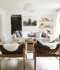 The Symmetry Of This Space Is Everything! Source @housesevendesign  #interiordesign #love #