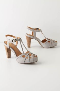 Wishin' & hopin', for these to decrease in price... these would perfectly match my bridesmaid dress for my bf's wedding in July.